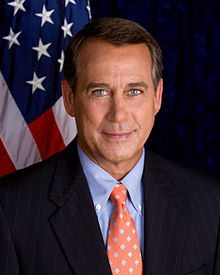 John Boehner, Speaker of the U.S. House of Representatives (Wikipedia)