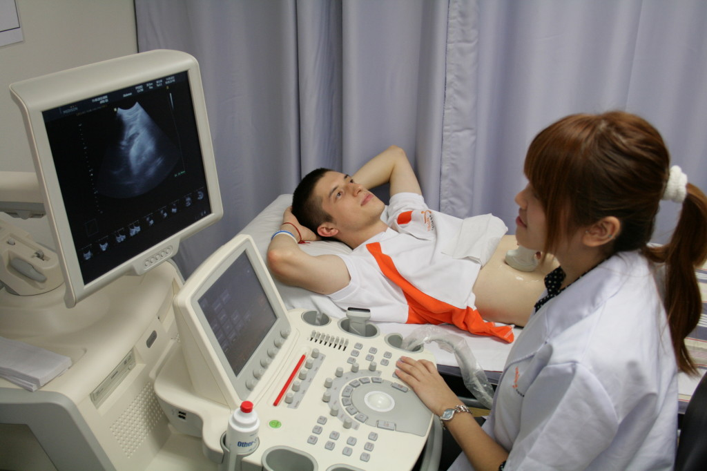 Ultrasound Technician degree orders in college