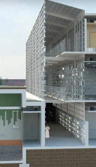 The School of Architecture and Interior Design at the University of Cincinnati (Photo credit: daap.uc.edu)