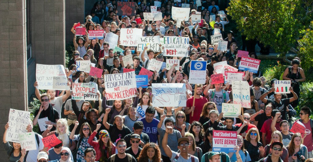 Million Student March across US to Protest College Tuition