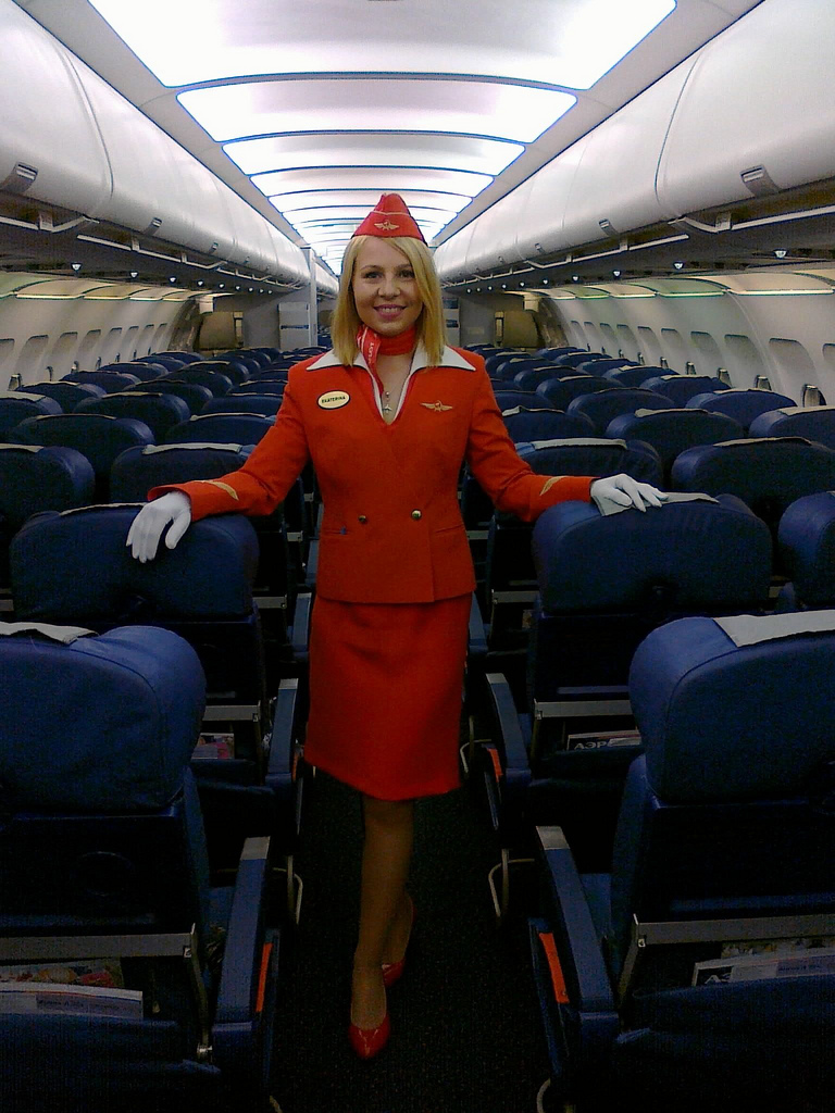 How to become a stewardess Where to study for a stewardess How to become a stewardess Aeroflot 5