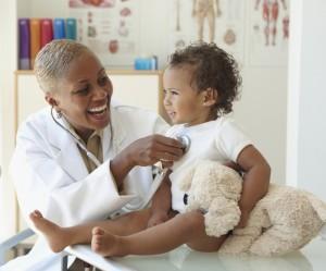 average pediatrician salary